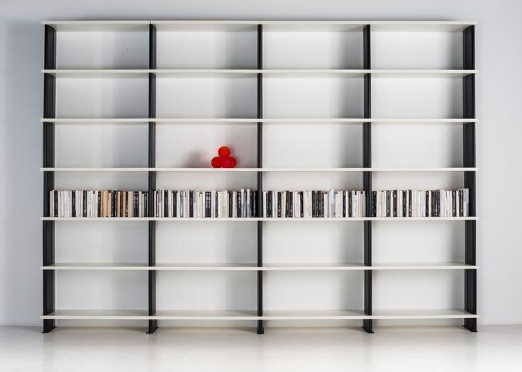 Nikka Bookcase that measures cm.360 x 258 / 30 d Suitable for every use: home , office, shops    #bookshelves #shelf #books #shelving