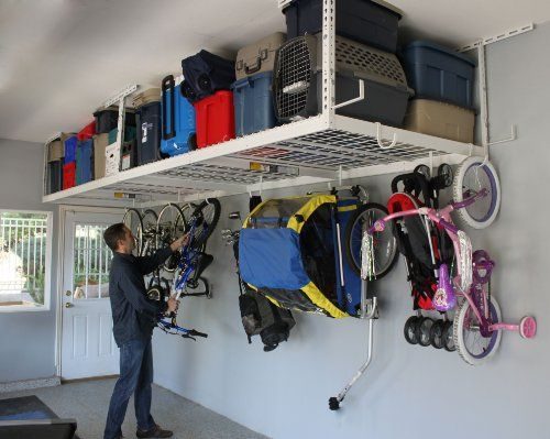My first biggest tip, DO NOT use your attic for storage! Check out these other great Garage Organization Tips!