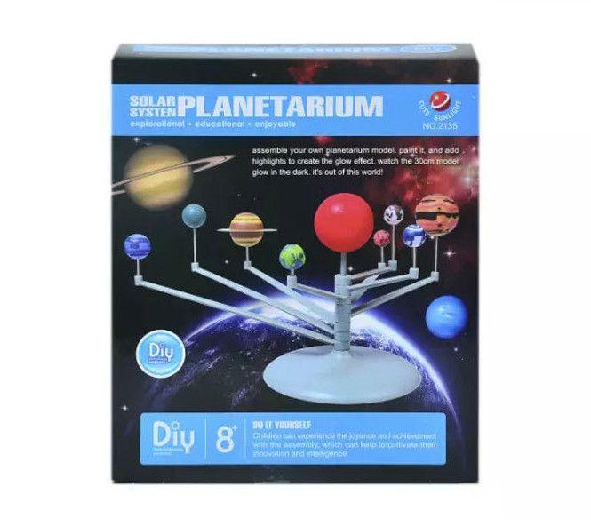 New Arrival Simulation Solar System Planetarium Assemble Learning Eductional Toys Montessori Aeromodelo For Kids Children Gift