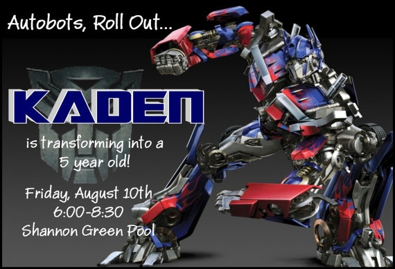 Transformers optimus prime birthday invitation by simplysprinkled transformers optimus prime birthday invitation by simplysprinkled 1300 parties rescue bots pinterest transformers optimus birthdays and rescue filmwisefo Images