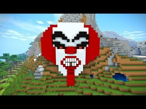 http://minecraftstream.com/minecraft-tutorials/minecraft-tutorial-how-to-make-a-clown-house-scary-halloween-house-cave-house-it-clown/ - Minecraft Tutorial: How to Make a Clown House | Scary Halloween House | Cave House | IT Clown  Minecraft: How to build a Scary house Tutorial. Minecraft Halloween special. Today i am shoing you house to build a survival cave house of a clown. This is a Epic mountain house with a scary face. Perfect for all your survival needs. You need TU55