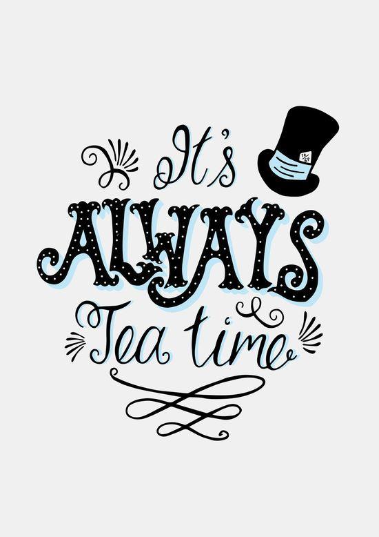 È sempre l'ora del tè ☕️