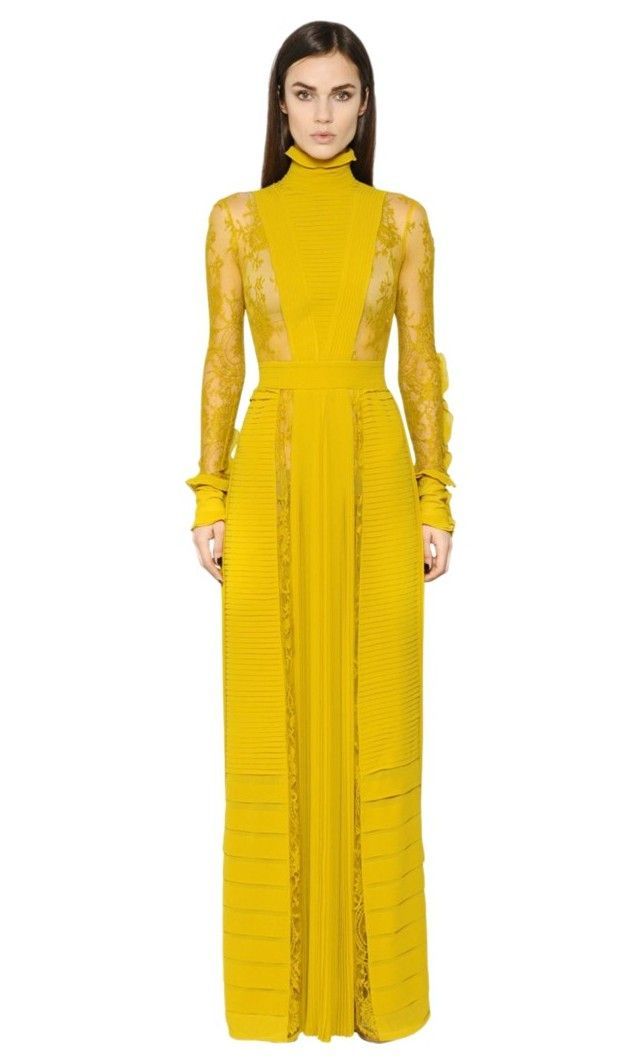 """Yellow lady"" by la-promenade on Polyvore"