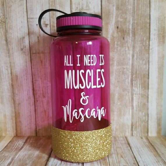 Hey, I found this really awesome Etsy listing at https://www.etsy.com/listing/276376158/water-bottle-muscles-mascara-gym-bottle