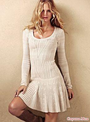 Платье Victoria's Secret - Вяжем вместе он-лайн - Страна Мам