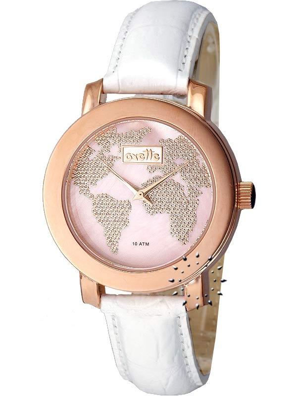 OXETTE Ladies White Leather Strap Μοντέλο: 11x05-00201 Η τιμή μας: 112€ http://www.oroloi.gr/product_info.php?products_id=14524