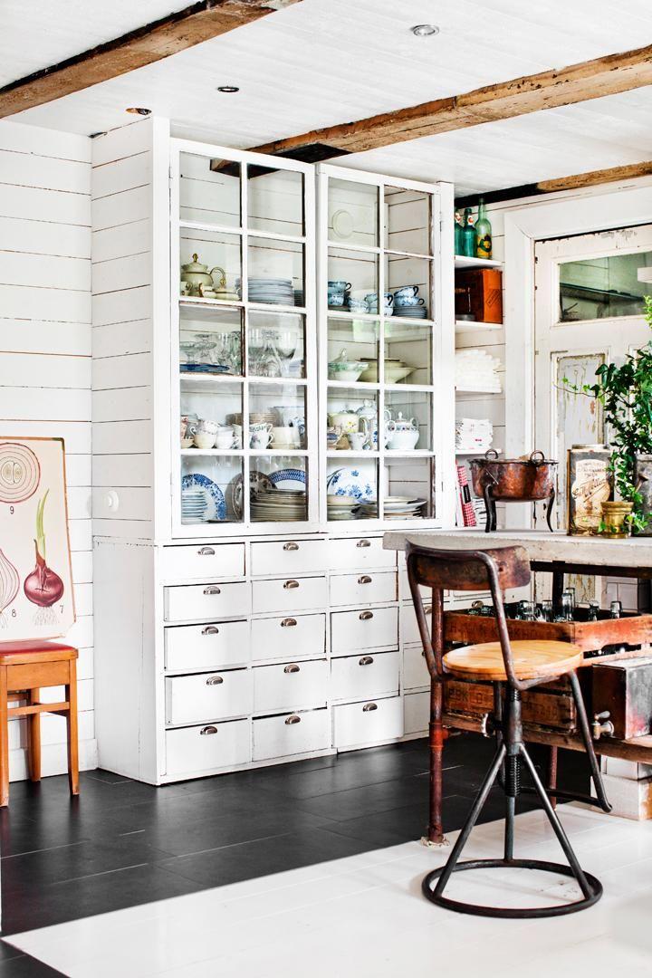 Vintagekök för storfamiljen - Hus & Hem