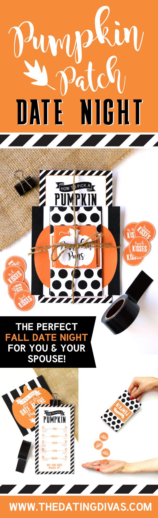 The perfect fall date for you and your sweetie! Includes a printable pack to help make your visit to the pumpkin patch one you'll never forget!