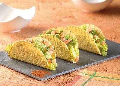 Ricetta Tacos Avocado e Gamberetti: scopri questa ed altre ricette gustose su Bonduelle.it !