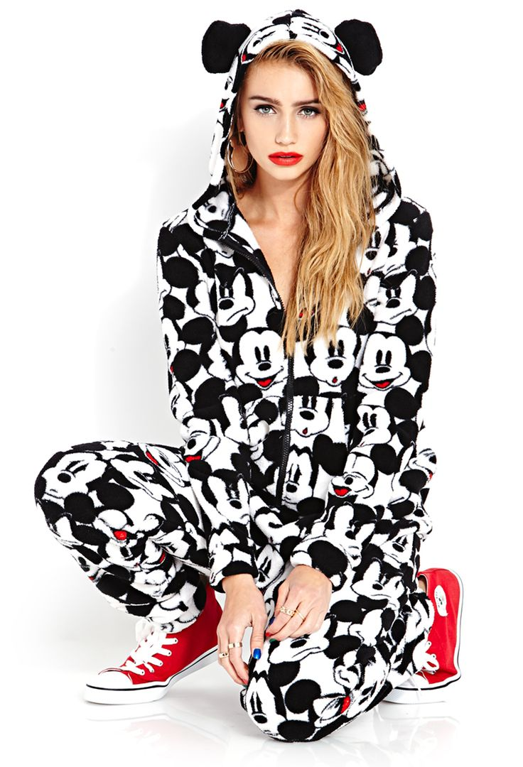 Cailin Russo models the Forever21 & Disney Collaboration Mickey&CO