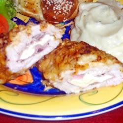 Garlic-Lemon Double Stuffed Chicken Allrecipes.com