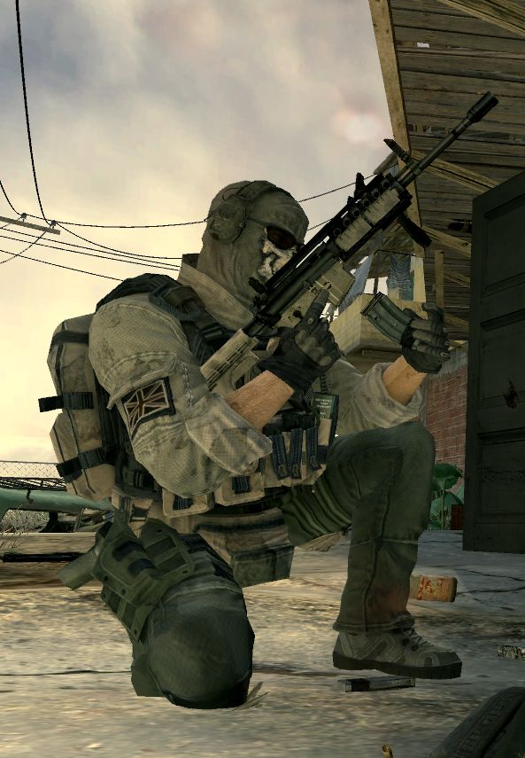 "Call of Duty: Modern Warfare 2 - Simon ""Ghost"" Riley - Task Force 141"