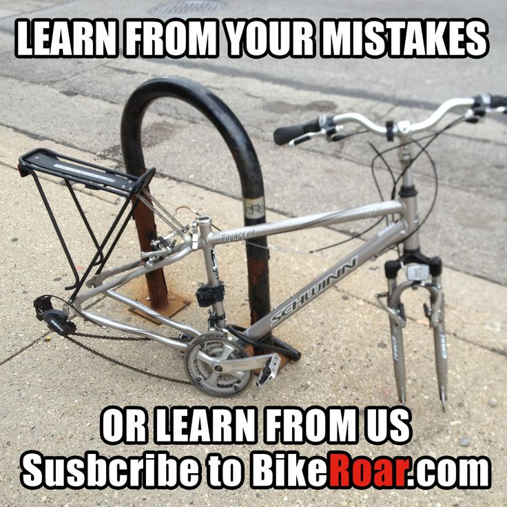 Learn from your mistakes or learn from us! Get helpful cycling news, tips, and advice.  Subscribe to BikeRoar here:   #cycling #bicycles #bikes #bicycling #bike #bicycle #news #information #research #BikeRoar #findbikes