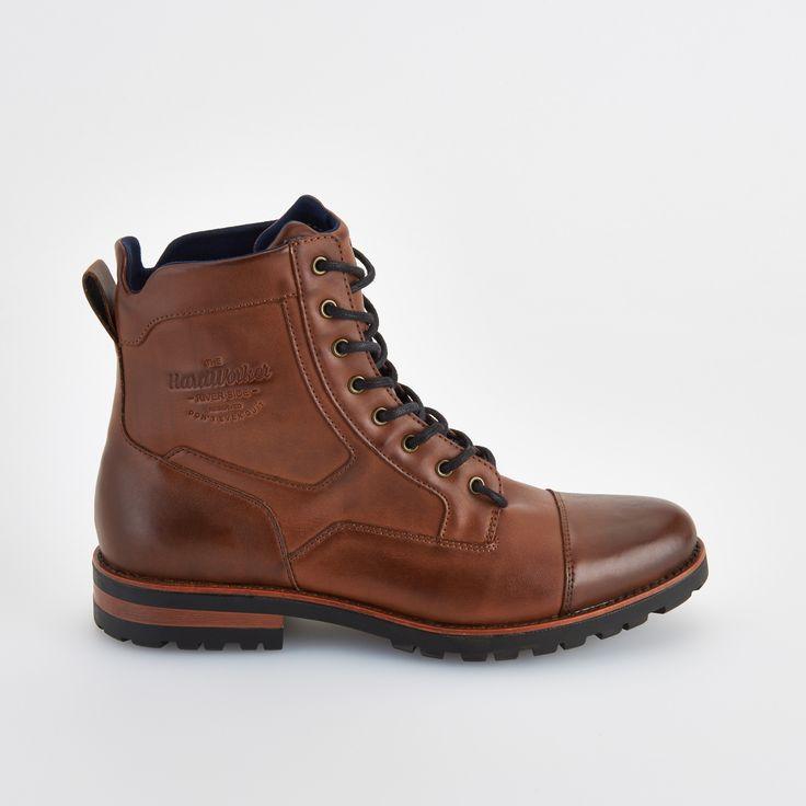 Sznurowane buty za kostkę , RESERVED