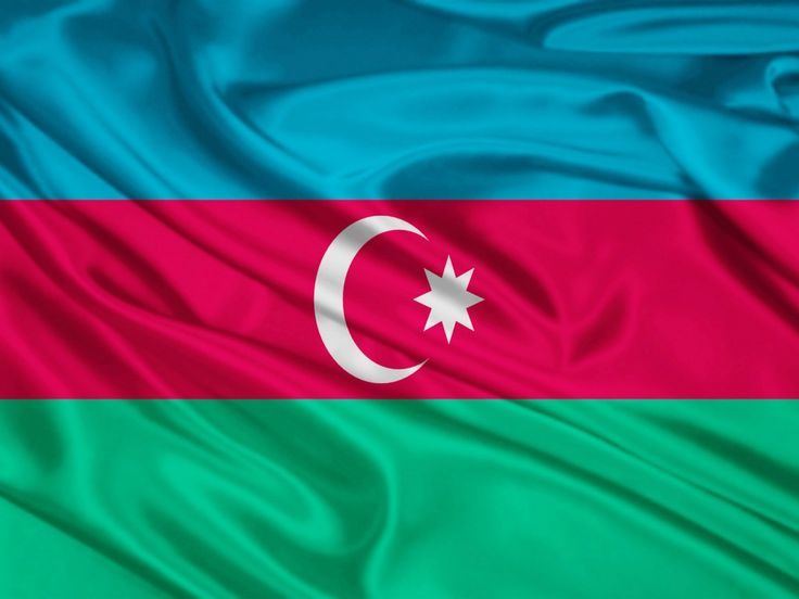 Azerbaijan Flag | Azerbaijan Flag 125 HD Wallpaper