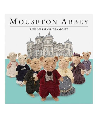 Take a look at this Mouseton Abbey Hardcover by Make Believe Ideas on #zulily today!