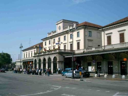 Railways station, Novara, Italy