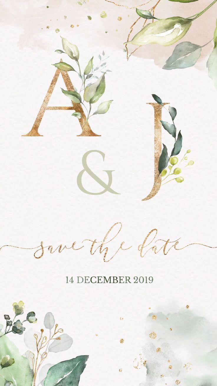 Save The Date Video Video Speichern Sie Das Datum Video Enregistrer La Date De La In 2020 Save The Date Video Wedding Invitation Video Digital Wedding Invitations