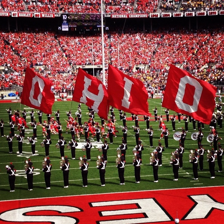 The Ohio State University Buckeyes Marching Band!