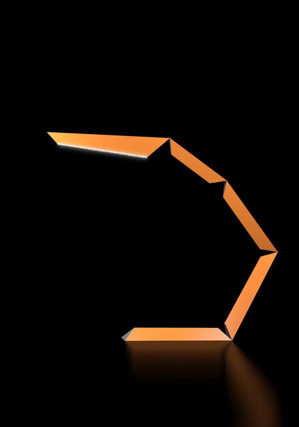 lampe de bureau articulée Phalanx