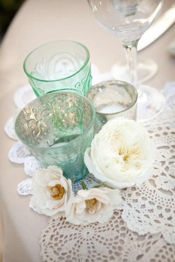75 Best Doily Wedding Decorations Images By Your Wedding Company On