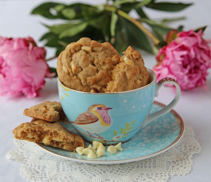 Shelina Permalloo for Billington's - White Chocolate & Cardamom Cookies
