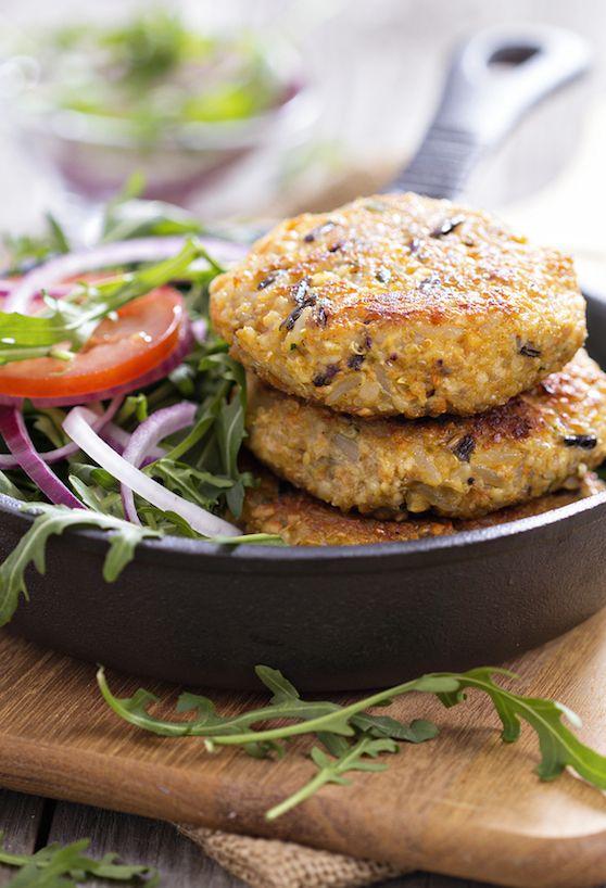 Quinoa and Wild Rice Vegan Burger recipe