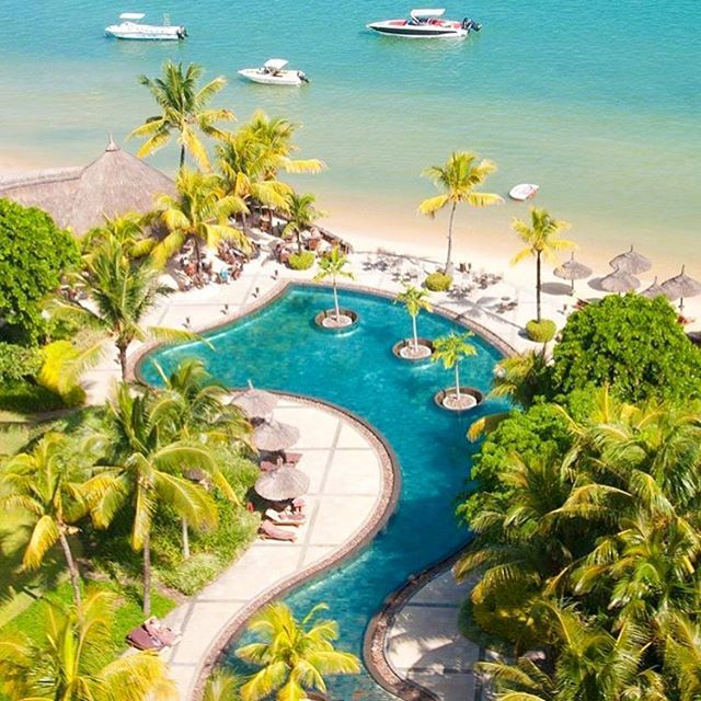 Mauritius  ---------------------------------------------------- #luxury #resort #goodlife #bestvacations #tourism #Mauritius #pool #swimming #sea #beach #golf #hotel #hotels #resort #relaxing #amazing #travel #travelling #traveling #travelblog #travelblogger #traveler #vacation #vacations #trees #trip #trippy