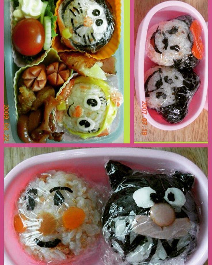 #japanesefood #obento #doraemon #anpanman