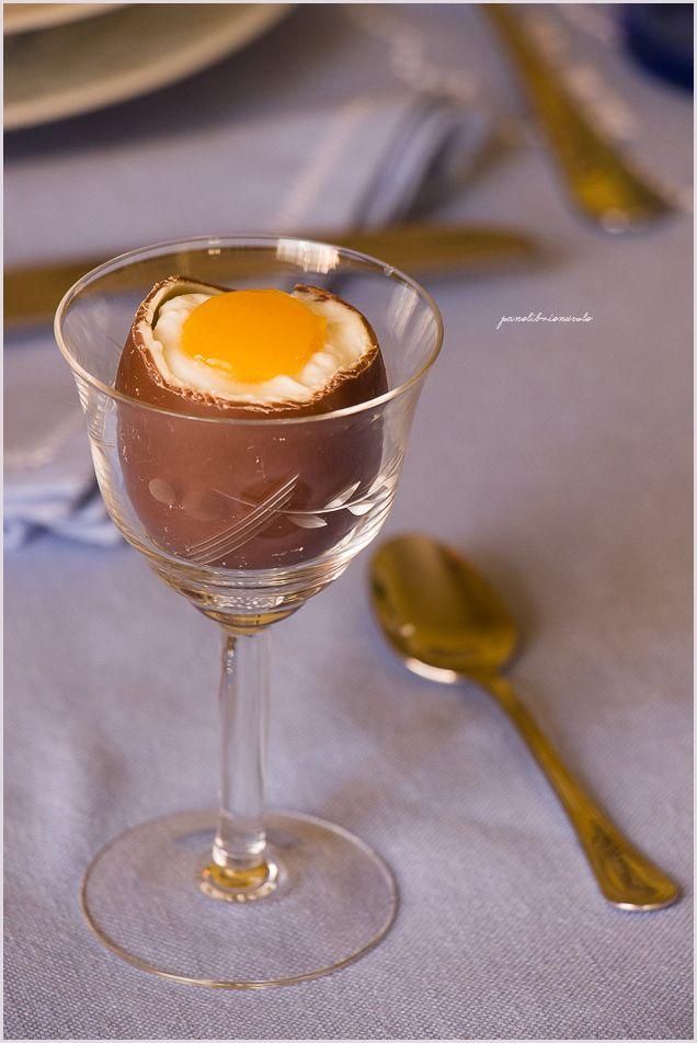 Fake chocolate eggs - Ovetti al cioccolato ripieni