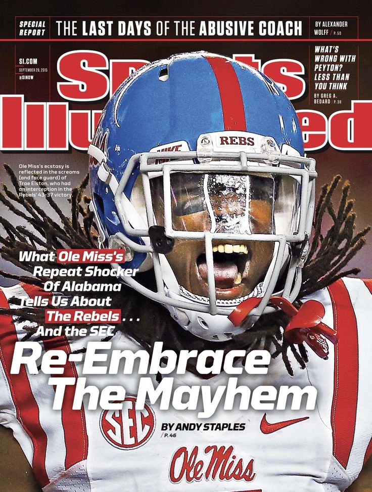 Ole Miss on cover of Sports Illustrated again!! Embedded image permalink