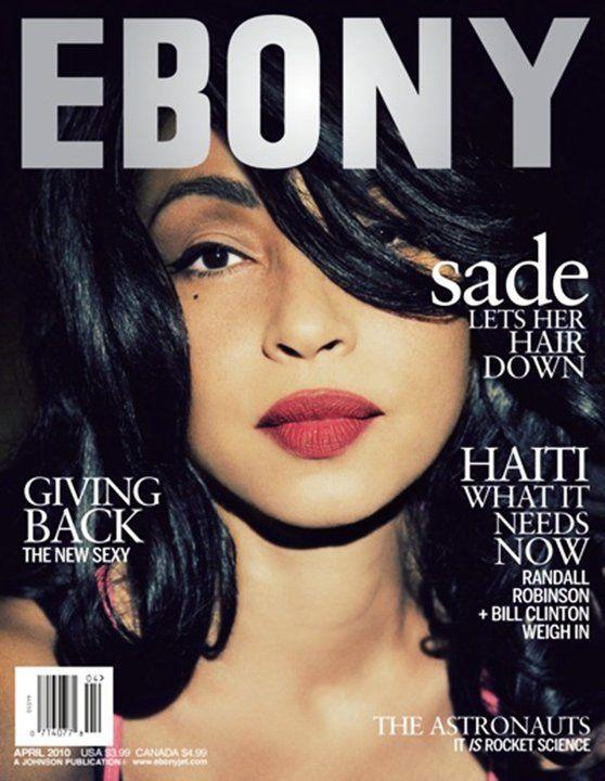 Pin By Jazzie Pha On The Supah Divaz Ebony Magazine Ebony Magazine Cover Sade