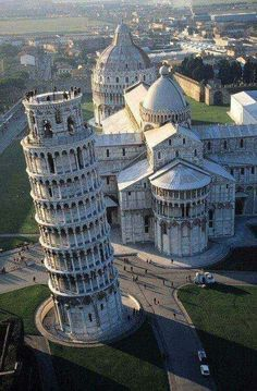 The Leaning Tower of Pisa, Italy - one of the 7 world wonders