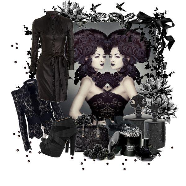 """""""Black is black"""" by liz-lestrange on Polyvore"""