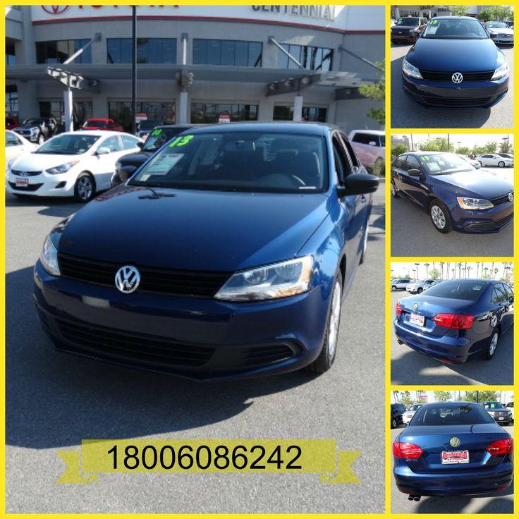 2013 Volkswagen Jetta 2.0 L Sedan 4D for sale at Las Vegas, Nevada Stock Number: 441604 VIN Number: 3VW2K7AJ6DM266402