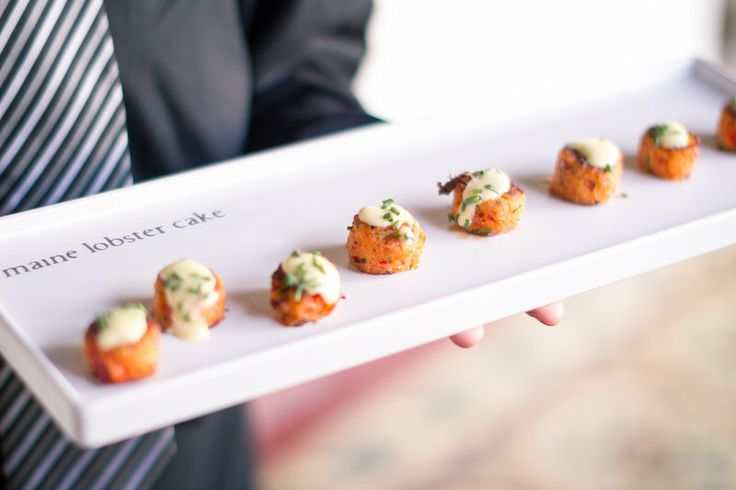 Real Wedding: Nicole & Paolo | Oz Visuals | 24 carrots Catering and Events | Casa Romantica | Mini Maine Lobster Cakes
