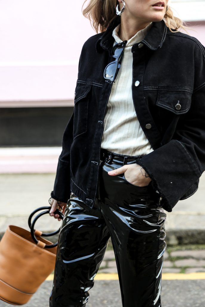 3 Bold Ways To Rock Patent Leather Pants