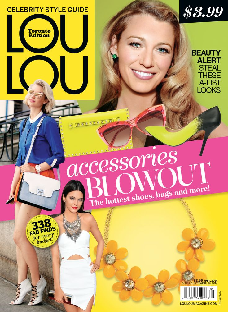 Another Lou Lou Magazine collaboration worth taking a peek.