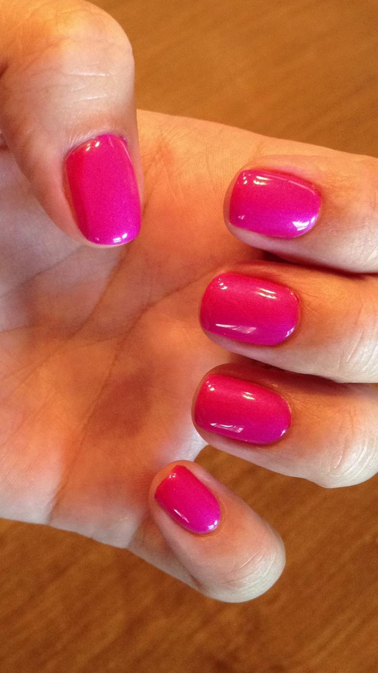 Cnd Shellac In Tutti Frutti Gel Nails Shellac Nail Colors Nails