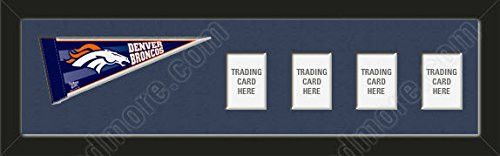 Denver Broncos Memory Mats Are Mat Boards Stenciled & Cut With Team Name Or Your Name / Text-To Insert Your Photos/Cards-Please Go Through Description & Mention In Gift Message The Option You Choose