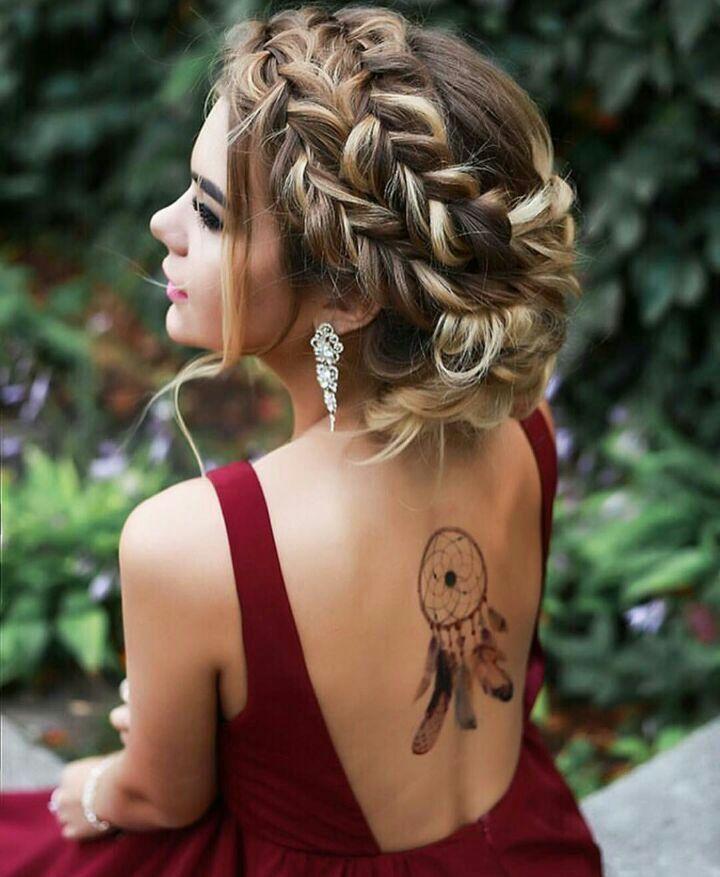 косички на длинные волосы для девочек фото