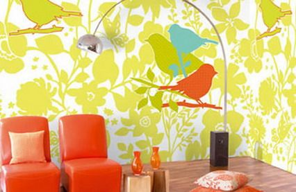 Loving The Use Of Warm Orange Yellow Green And Blue Accent