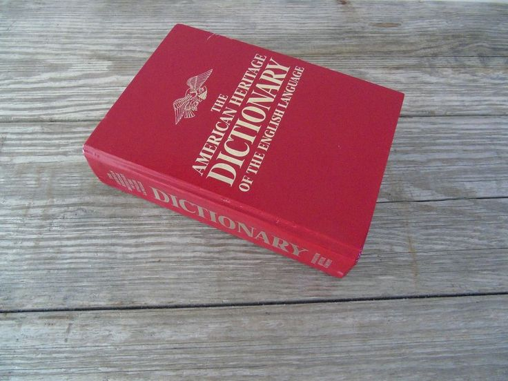 The American Heritage Dictionary of English Language 1981 Hardcover Thumb Indexe | Books, Nonfiction | eBay!