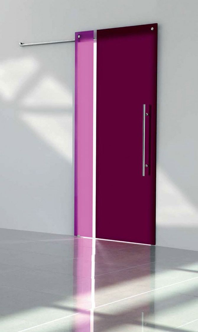 I want a kick ass pink sliding door.