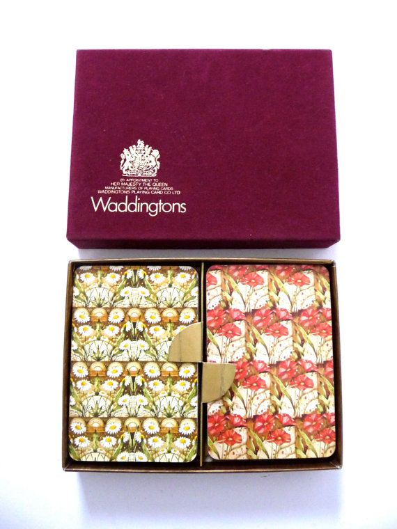 Vintage Playing Cards Waddingtons Playing Cards