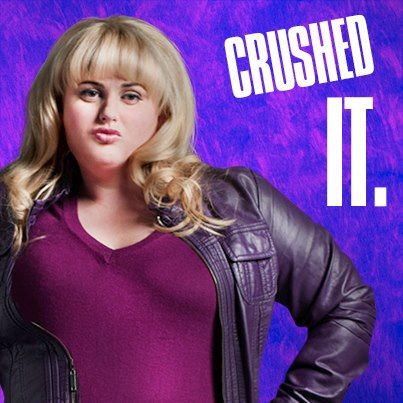 Fat Amy :) pitch perfect. Best movie ever