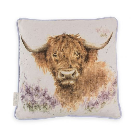 Highland Heathers Cushion | Wrendale Designs by Hannah Dale