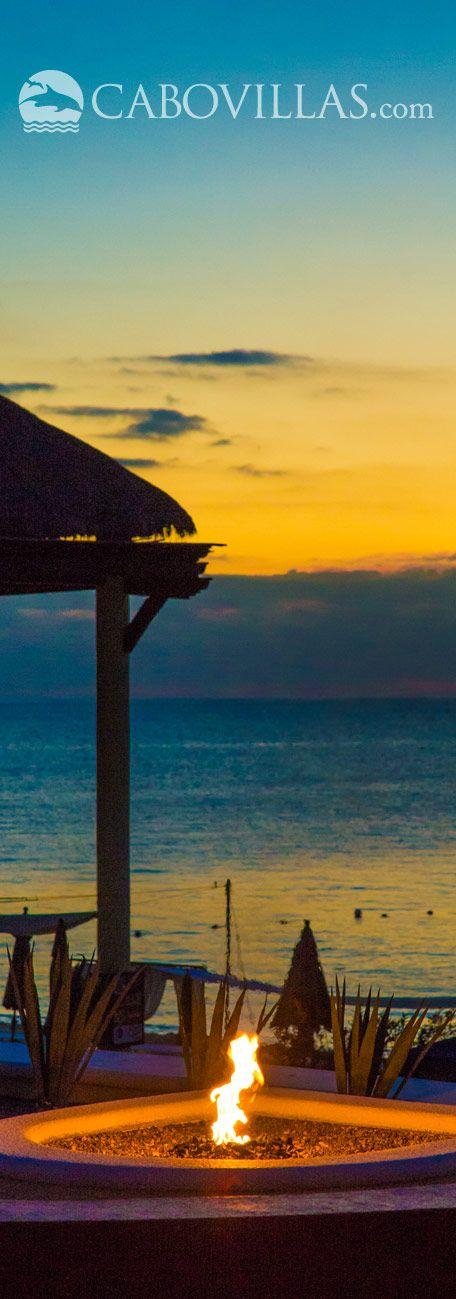 Sunset view at Casa Dorada Los Cabos Resort in Cabo San Lucas #Mexico. More info: http://www.cabovillas.com/properties.asp?PID=301  #travel #LosCabos #CaboSanLucas #Mexico #Cabo #vacation