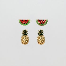Pavement United Brands - Fruit Earring Set