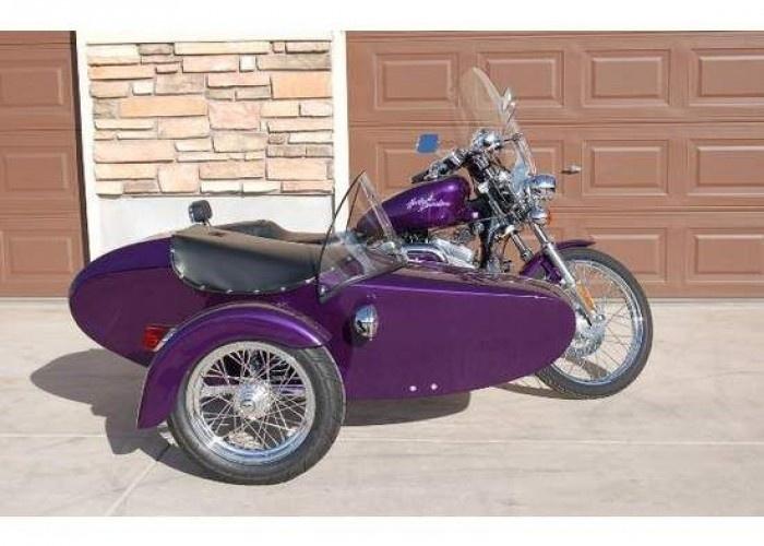 purple sportster for sale | Details for: 2001 Purple Harley-Davidson Sportster Custom For Sale in ...